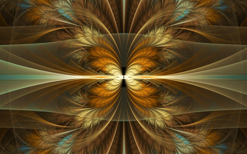 Splitting Feathers - M Bourne and Mi Mi Image