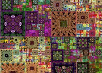 Sierpinski Quilt Layers